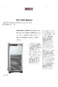 Digital Equipment Corp. (DEC) - VAX-7000 Systems