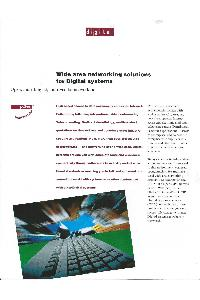 Digital Equipment Corp. (DEC) - Wide Area Networking Solutions for Digital systems