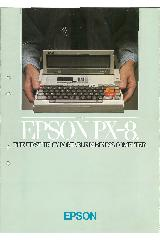Epson PX-8 - The first truly portable business computer
