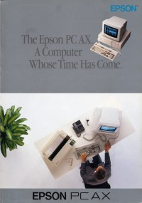 The Epson PC AX. A computer whose time has come