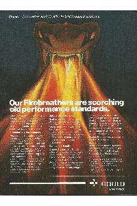 Gould Inc. - Our Firebreathers are scorching old performance standards