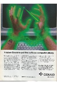 Gould Inc. - It takes Gould to put the cuffs on computer piracy