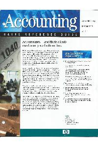 Hewlett-Packard - Accounting Sales Reference Guide
