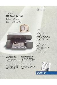 Hewlett-Packard - HP DeskJet500 Inkjet Printer - Techical Data
