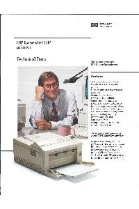 Hewlett-Packard - HP LaserJet IIP printer - Technical Data