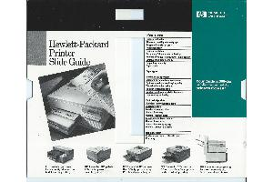 Hewlett-Packard - HP Printer Slide Guide