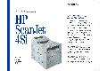 Hewlett-Packard - HP Scanjet 4Si technical data sheet