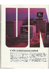 Hewlett-Packard - UNIX. An ideal has been realized