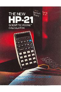 Hewlett-Packard - The new HP-21 Scientific Pocket Calculator