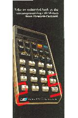 Hewlett-Packard - Take an unhurried look at the uncompromising calculators from Hewlett-Packard