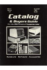 IBM (International Business Machines) - Catalog & buyers guide for the IBM Personal Computer User