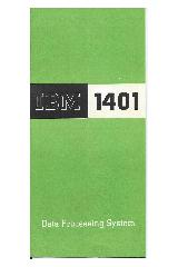 IBM (International Business Machines) - IBM 1401