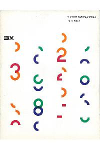 IBM (International Business Machines) - The IBM 3820 Page Printer Facts Folder