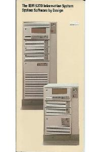 IBM (International Business Machines) - The IBM 9370 Information System