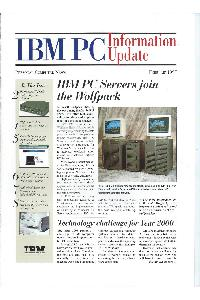 IBM (International Business Machines) - IBM PC Information update