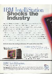 IBM (International Business Machines) - IBM IntelliStation Shoks the industry