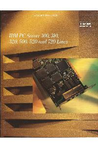 IBM (International Business Machines) - IBM PC Server 300, 310, 320, 500, 520 and 720 lines