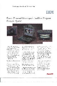 IBM (International Business Machines) - Power Personal Developer's Toolsbox Program Portable System