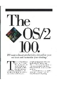 IBM (International Business Machines) - The OS/2 100