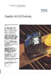 IBM (International Business Machines) - ThinkPad 760C/CD Notebooks
