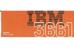 IBM (International Business Machines) - IBM 3661 Store controller