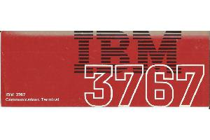 IBM (International Business Machines) - IBM 3767 Communications Terminal