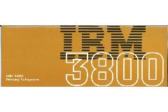 IBM (International Business Machines) - IBM 3800 Printing subsystem