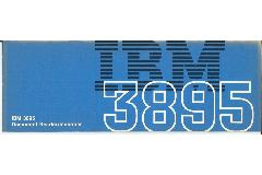IBM (International Business Machines) - IBM 3895 Document Reader/Inscriber