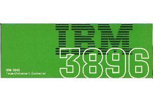 IBM (International Business Machines) - IBM 3896 Tape-Document Converter