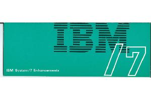 IBM (International Business Machines) - IBM System/7 Enhancement