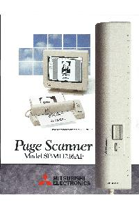 Mitsubishi - Page scanner model SP-MH216AFA