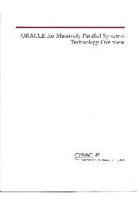 nCube Corp. - Oracle for massively parallel systems: technology overview