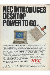 Nec - Nec introduces desktop power to go