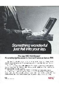 Nec - Something wonderful just fell into your lap