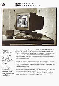 NeXT Inc. (Next Computer Inc.) (Next Software Inc.) - Next Station Color, Next Station Turbo Color