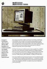 NeXT Inc. (Next Computer Inc.) (Next Software Inc.) - Next Station, Next Station Turbo