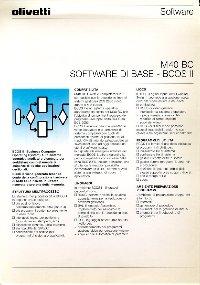 Olivetti - M40Bc - Software di base