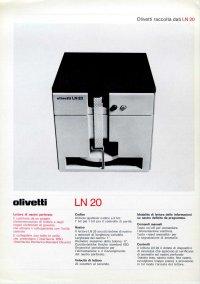 Olivetti - Olivetti LN-20