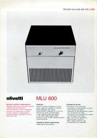 Olivetti - Olivetti MLU-600
