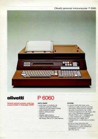 Olivetti - Olivetti P6060