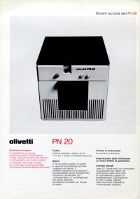 Olivetti - Olivetti PN-20