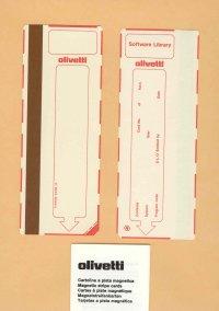 Olivetti - Cartoline magnetiche e dischetti pulizia