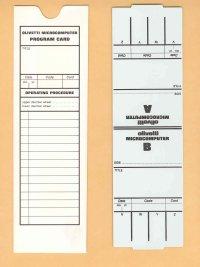 Scheda Olivetti Programma 101