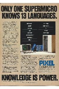 Pixel Computer  - Only one supermicro knows 13 languages