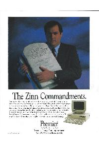 Premier Innovations - The Zinn commandments