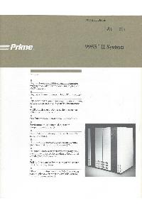 Prime - 9955 II System
