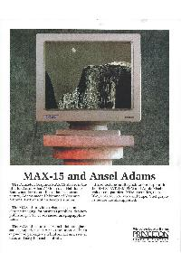 Princeton Graphic Systems - Max-15 & Ansel Adams