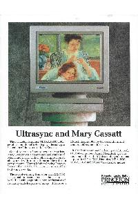 Princeton Graphic Systems - Ultrasync & Mary Cassatt