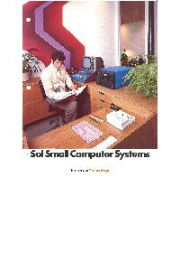 Processor Technology Corp. - Sol Small Computer Systems