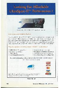 Sanar Systems - Looking for affordable UltraSparc-II performance?